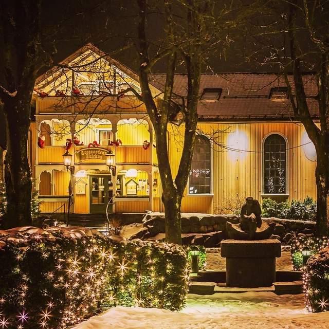 Резиденція Санти в Норвегії / Фото Tom Rolf Ingebretson