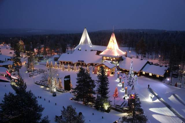 МістечкоJoulupukki / Фото christmashousesanta.fi