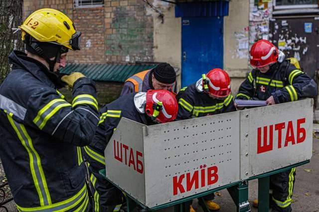 Рятувальники на місці події