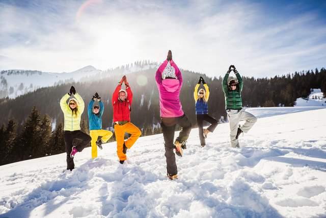 Для зимних тренировок нужна правильная одежда