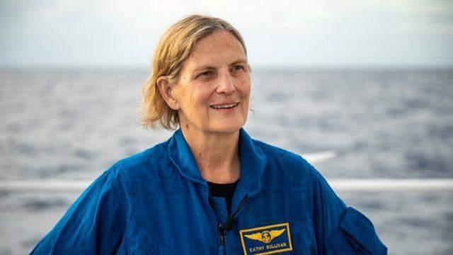 кеті салліван побувала на дні океану та в космосі