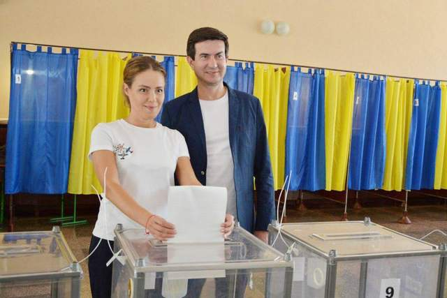 Юрій Солод та Наталія Королевська