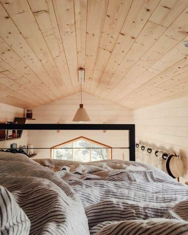 Спальня на втором ярусе