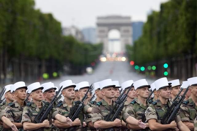 Французькі солдати