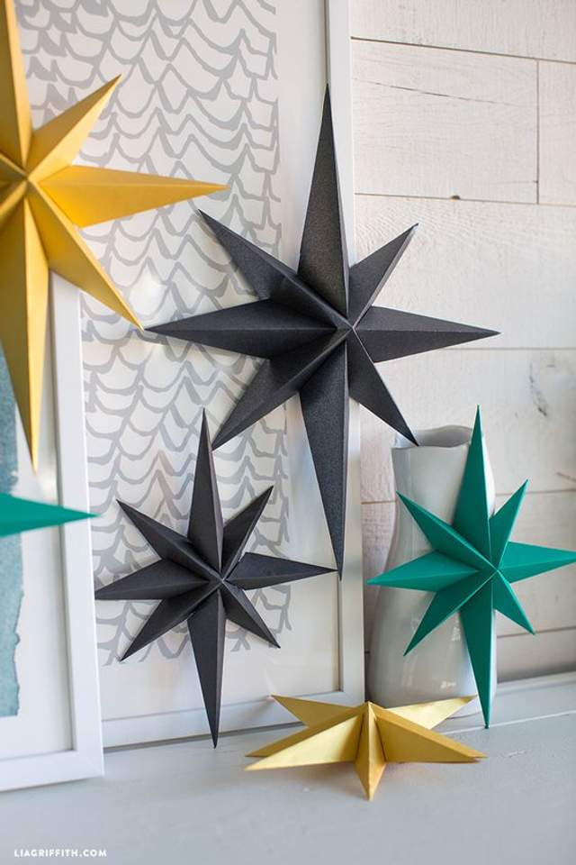 Варіанти різдвяних зірок