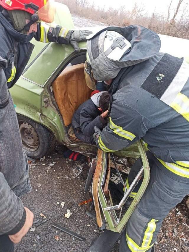 Краматорськ Донеччина ДТП травмовано 6 з них 3 дітей