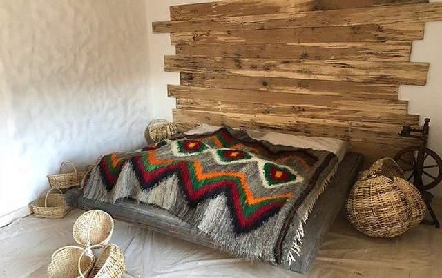 Стильный интерьер гуцульского дома