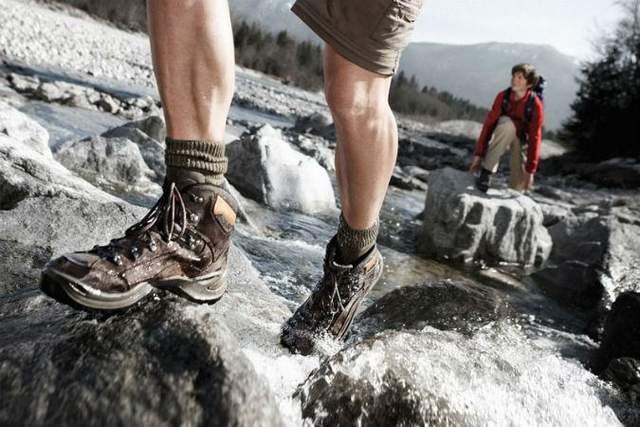 Риск промочить обувь всегда