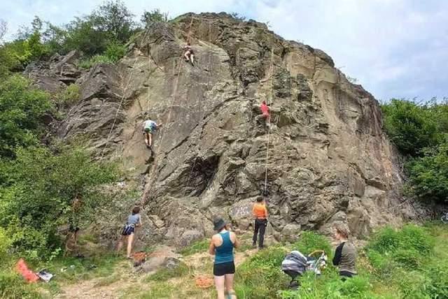 Новий скелелазний маршрут на Закарпатті