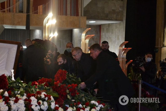 Ігор Терехов, харківські чиновники, похорон Кернеса, Харків