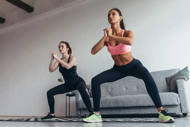 Эффективно тренироваться можно и в домашних условиях