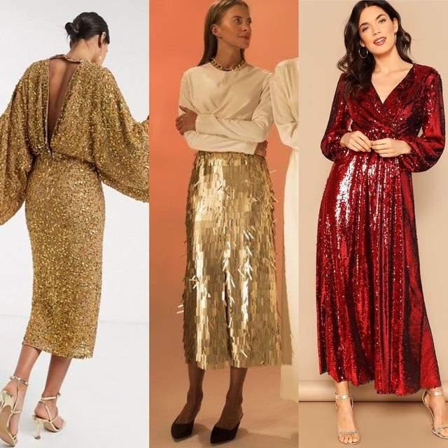 Варіанти вбрання у новорічну ніч