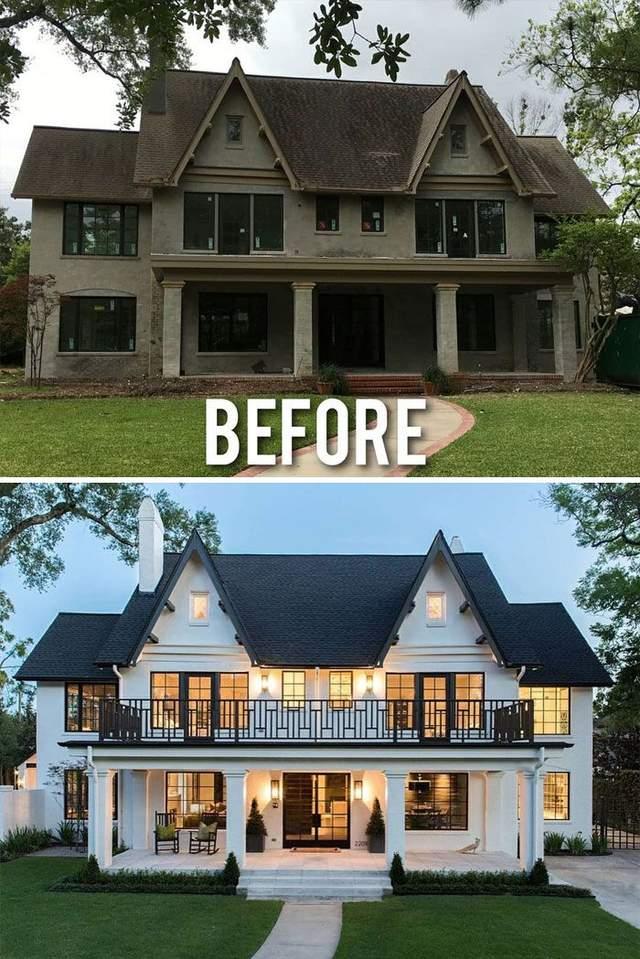 Білий будинок має розкішний вигляд
