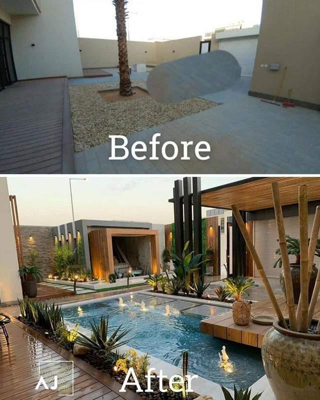 Двір перетворили на великий басейн