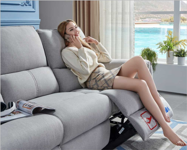 Cheers Electric Fabric Sofa
