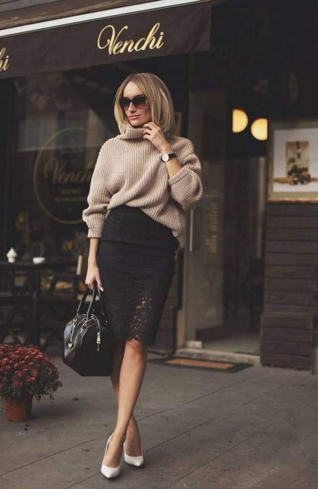 Як не варто носити спідницю взимку