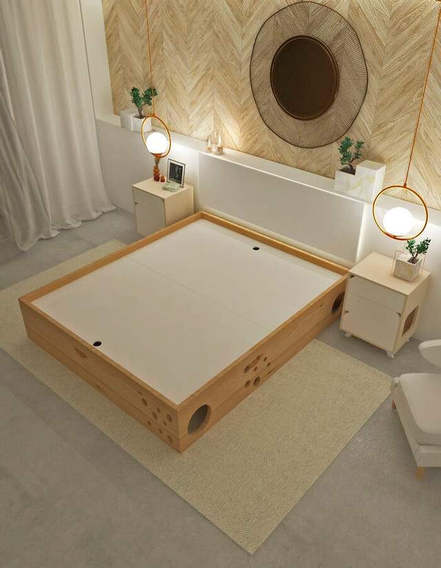 Нова модель ліжка буде мати гідравлічну систему для полегшення прибирання