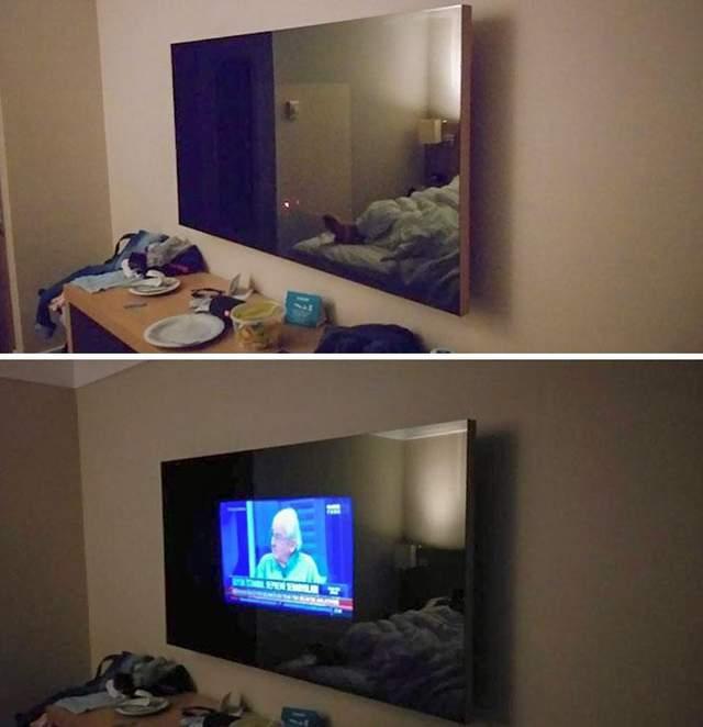 Гість у цьому номері заплатив кошти за великий телевізор