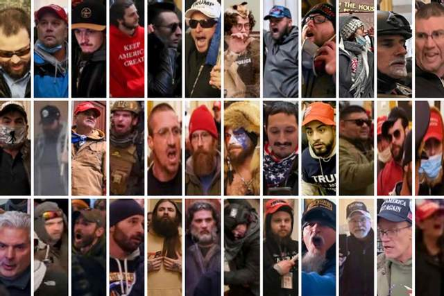 Учасники заворушень у Вашингтоні