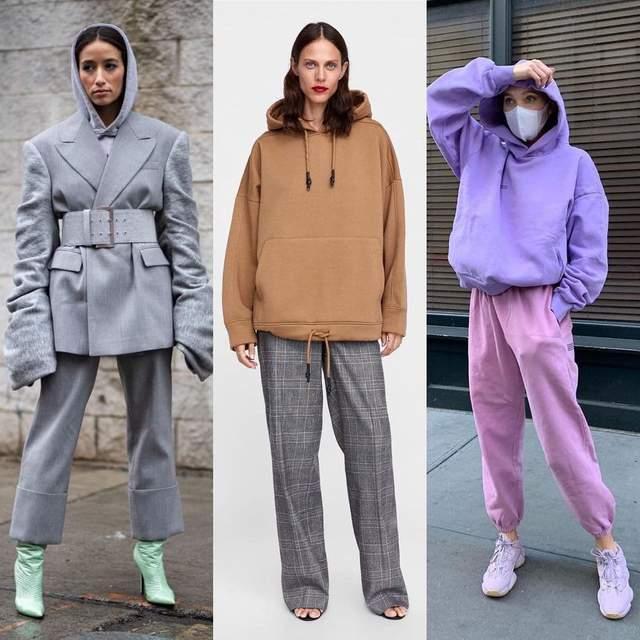 Стильні ідеї носіння худі