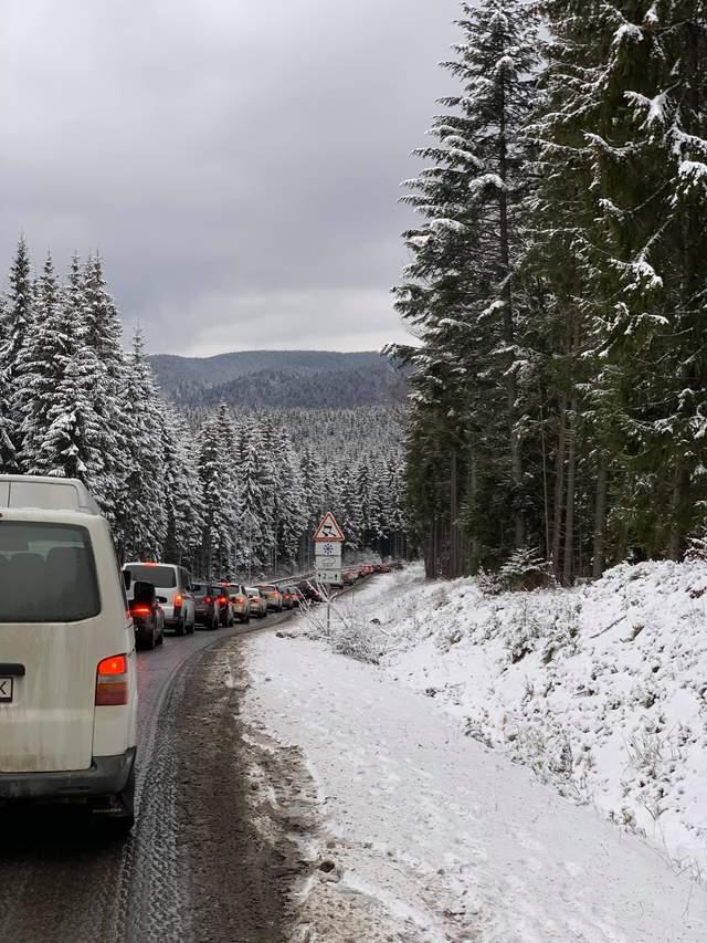 Буковель затори пробки дорога новини фото 2021