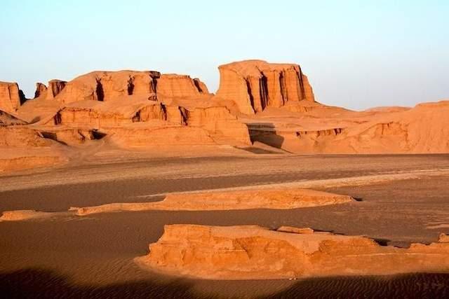 найжаркіша пустеля деште-лут іран