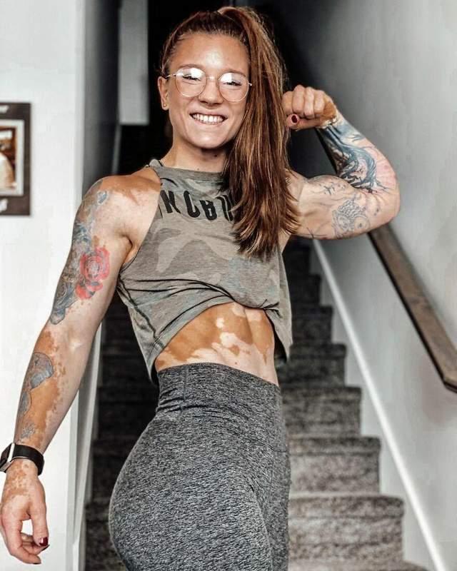 Спортсменка хочет давать мотивацию другим людям