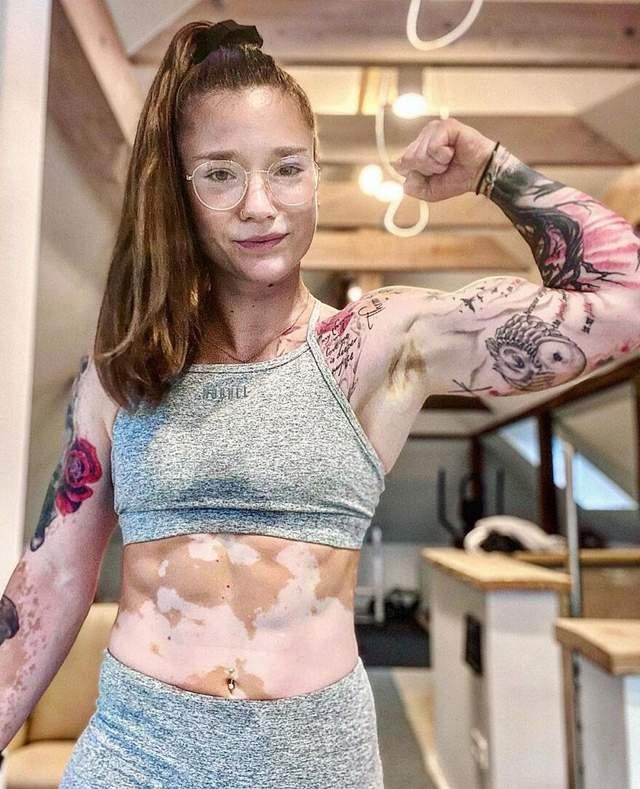 Сейчас Антония учит других развивать и улучшать свое тело