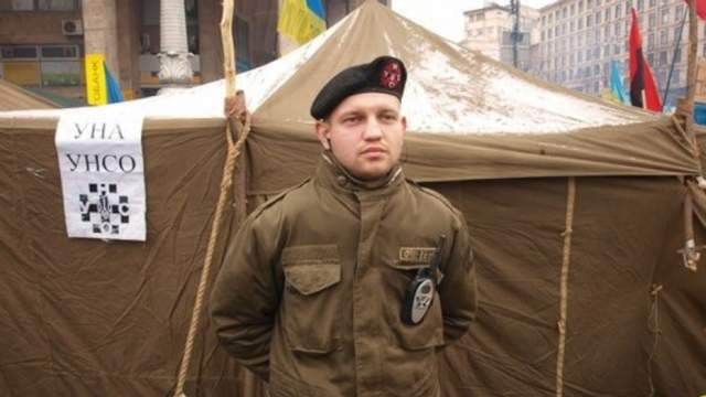 Михайло Жизевський Майдан фото перші жертви на Майдані
