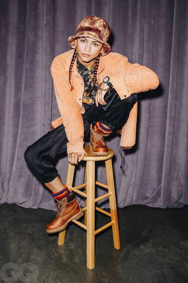 Зендая знялася у яскравій фотосесії для GQ