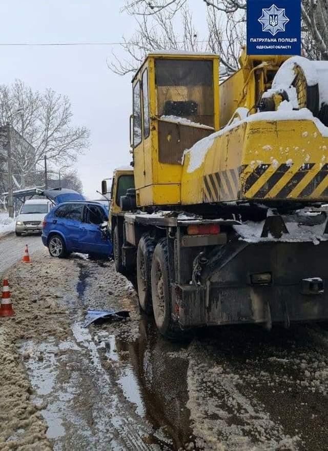 аварія за участю BMW в Одесі