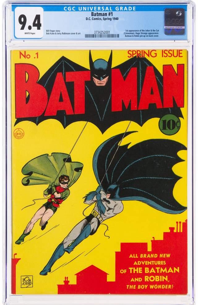 Перший комікс про Бетмена 1940 року може стати найдорожчим коміксом в історії