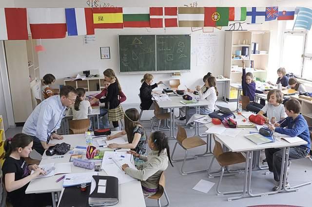 Школярі у Швейцарії