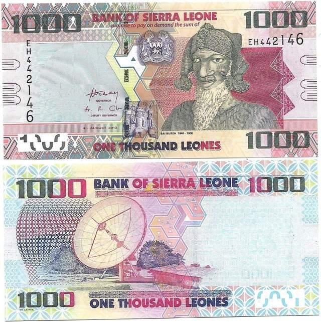 Валюта Сьєрри-Леоне
