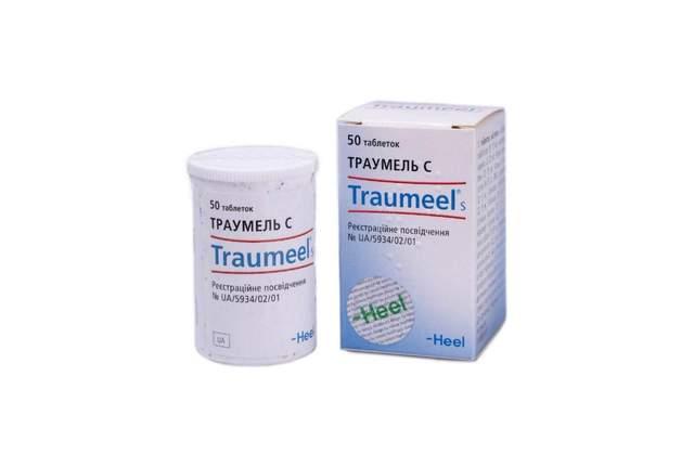 Траумель С: таблетки