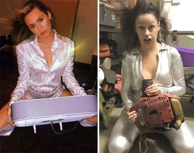 Королева іронії Селеста Барбер продовжує весело пародіювати знаменитостей в Instagram
