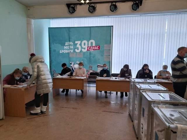 У Броварах зафіксували порушення на виборах