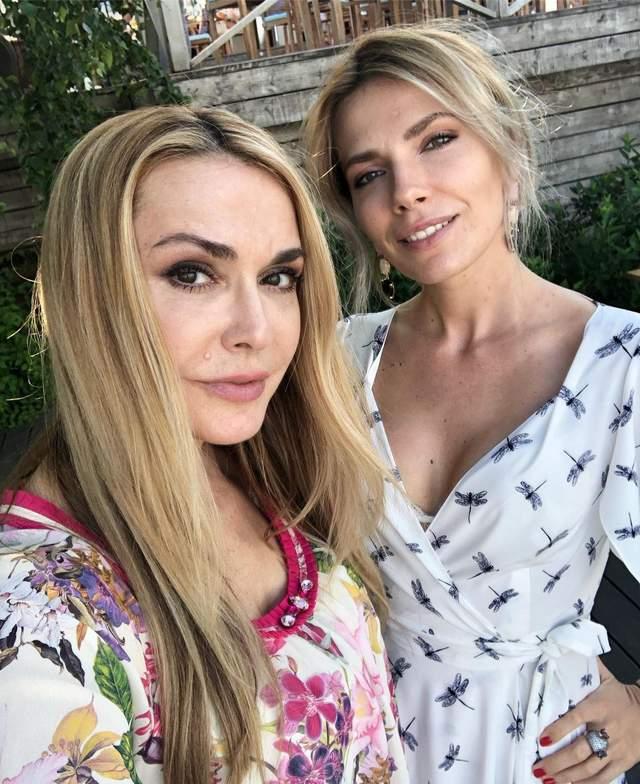 Ольга Сумська з донькою Антоніною