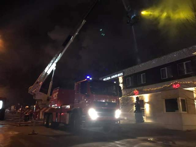 пожар Одесса