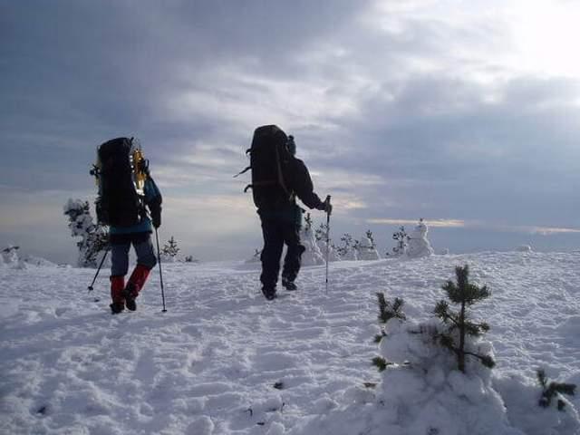 В поход можно взять две куртки и два вида термобелья