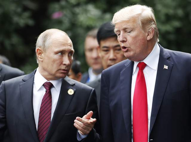 Путін і Трамп