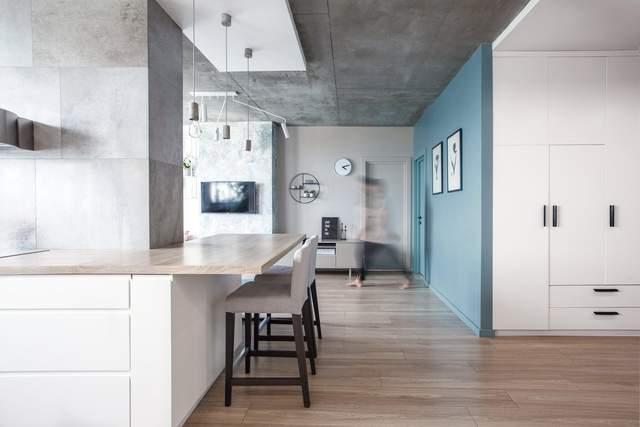 У квартирі багато світла і простору