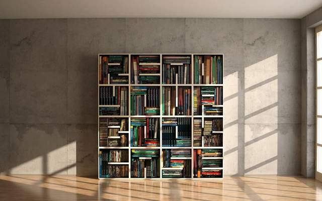 Книги могут стать отдельным декором