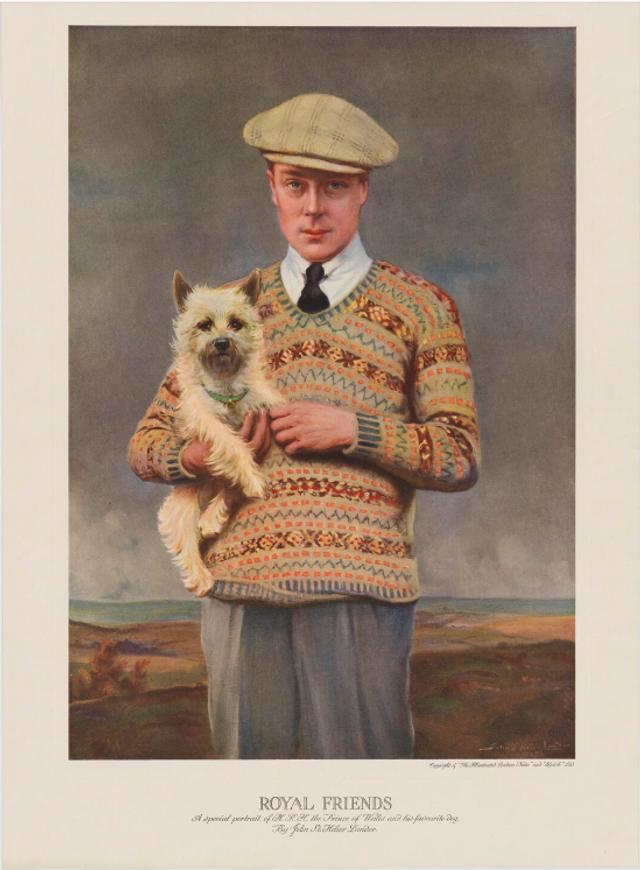 Фотогравюра принца Едуарда, опублікована 23 листопада 1925 року
