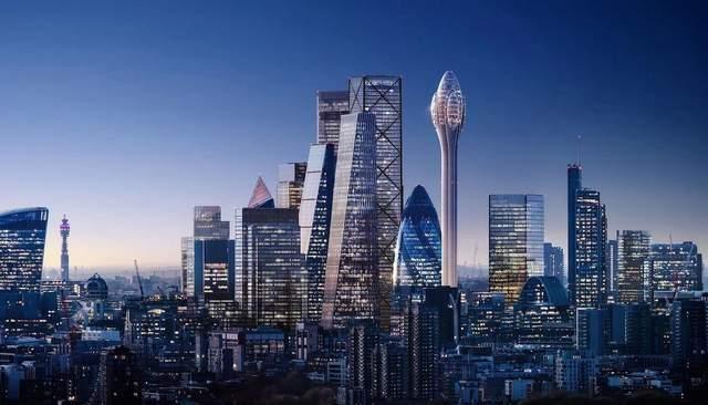 Вид на місто із новою вежею  / Фото My modern met