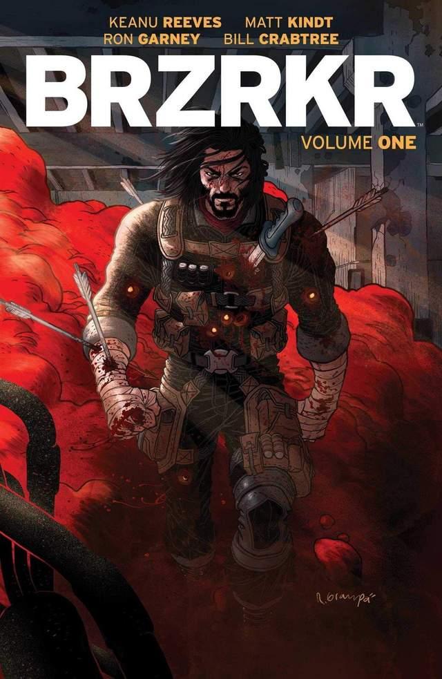 Комікс BRZRKR від Кіану Рівза і видавництва Boom