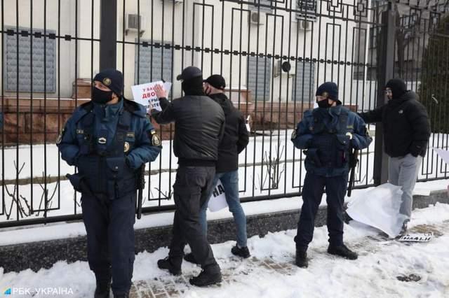 Протест на підтримку Навального