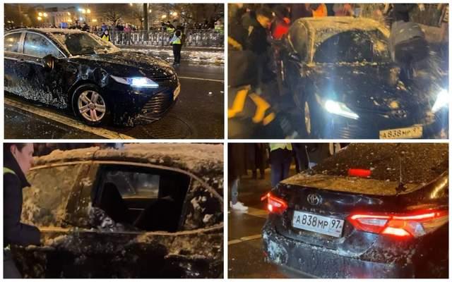 Машина, АМР, Москва, спецномери, мітинги, Навальний