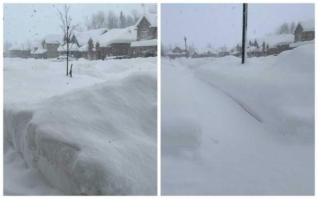 канада сніг