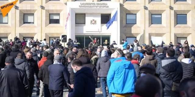 Протест у Грузії